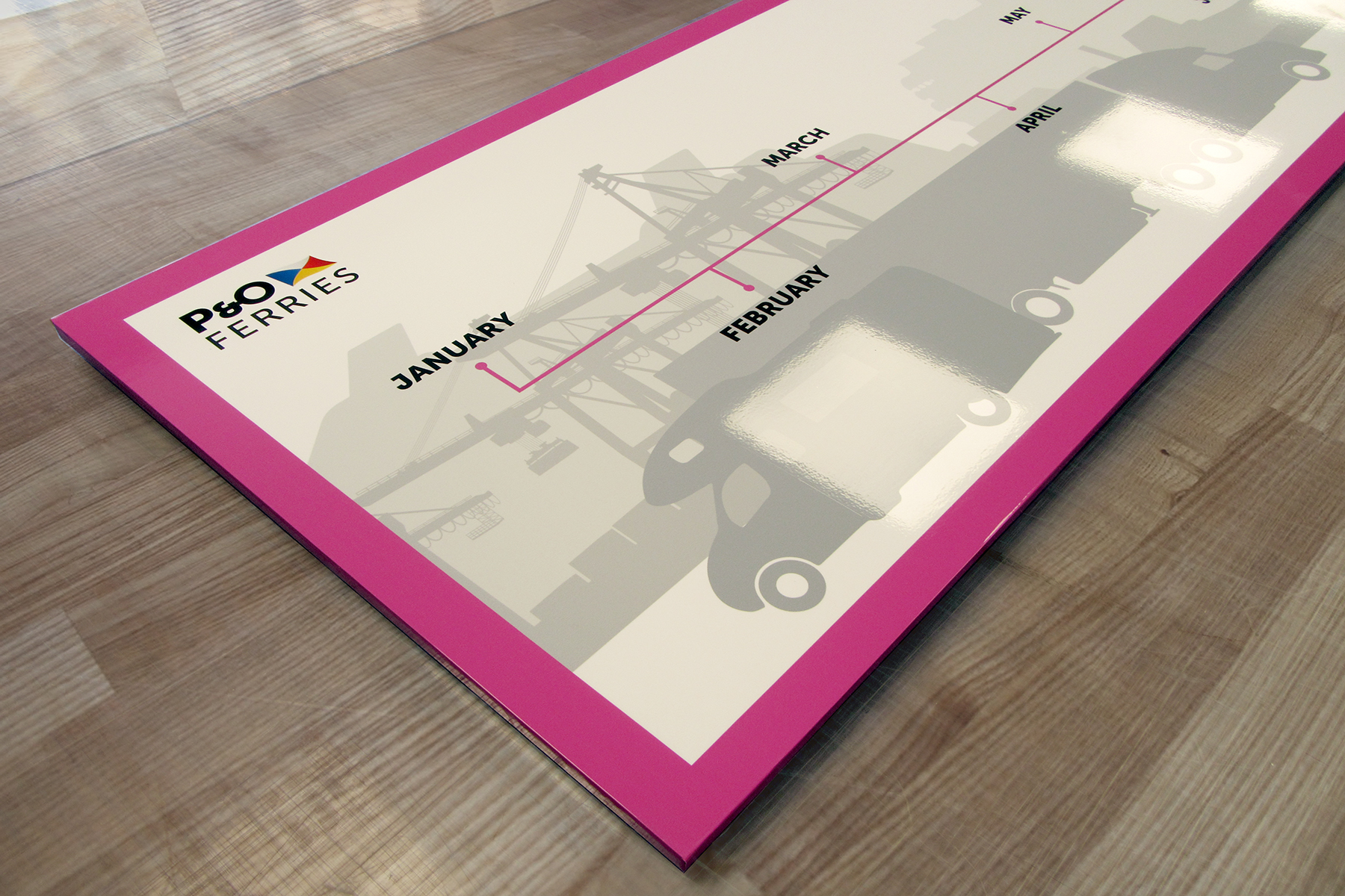 Printed whiteboards