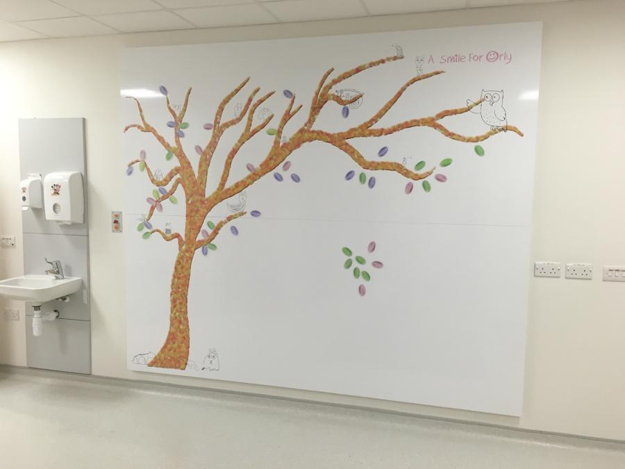 magnetic whiteboard wall art