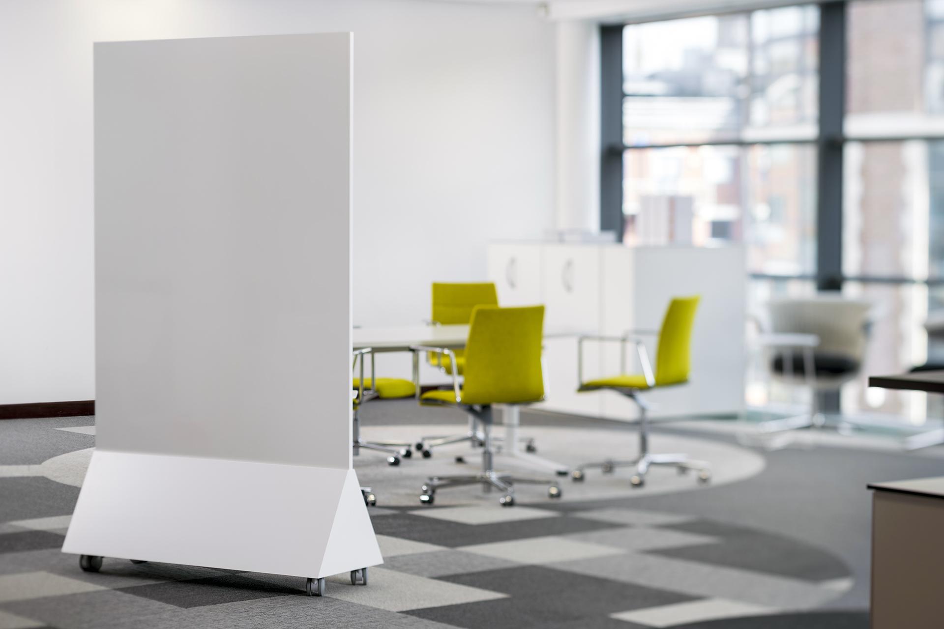 ThinkingWall Freestander mobile whiteboard