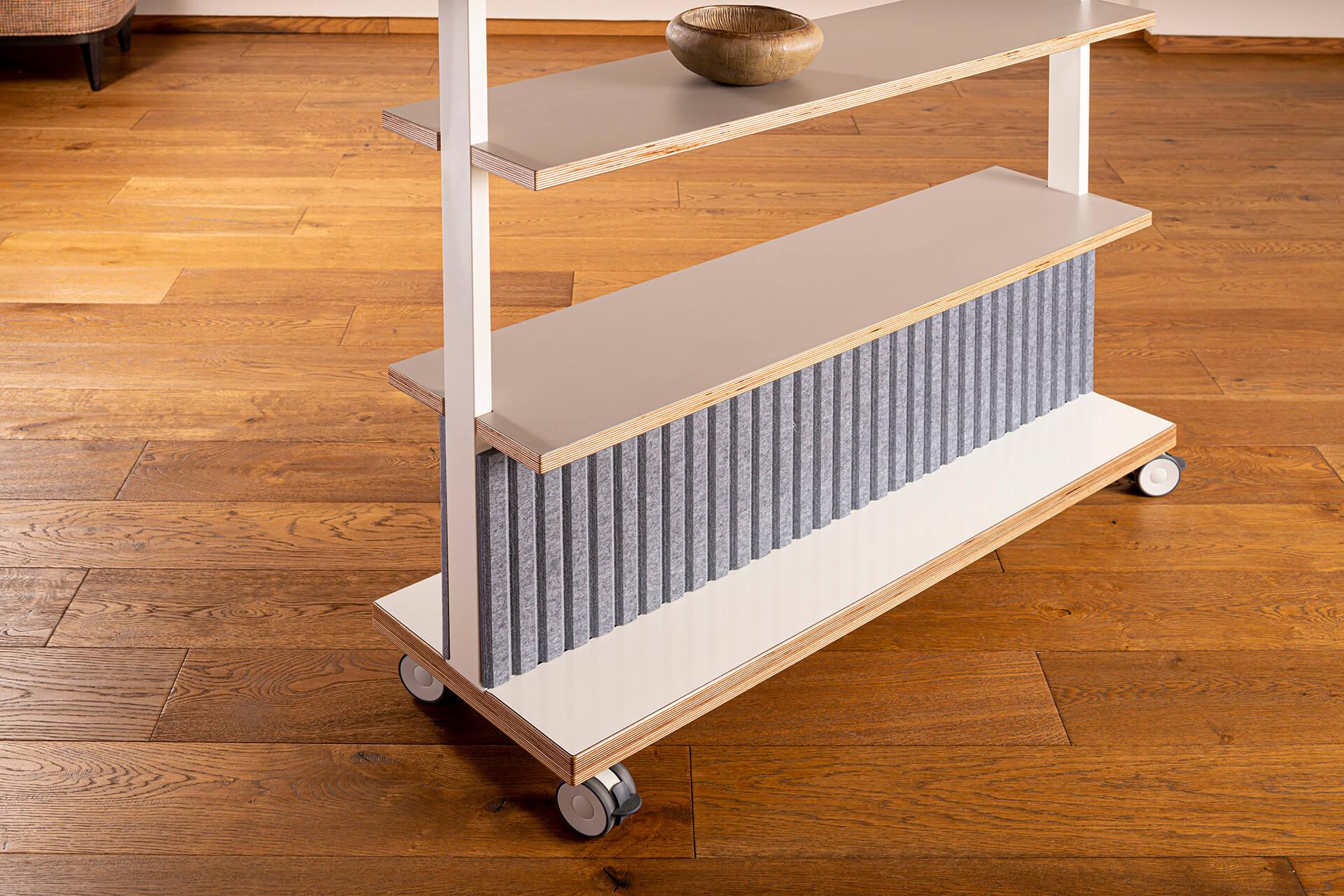 ThinkingWall Acoustic Shelf detail